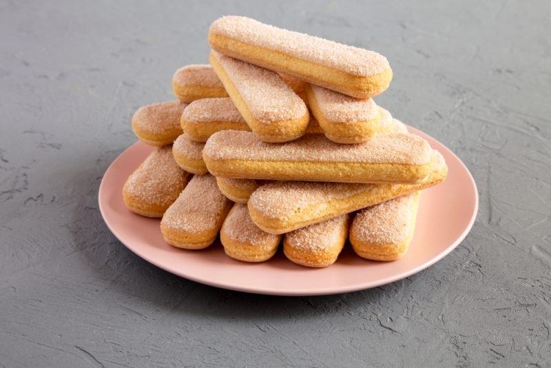 Так выглядит печенье савоярди
