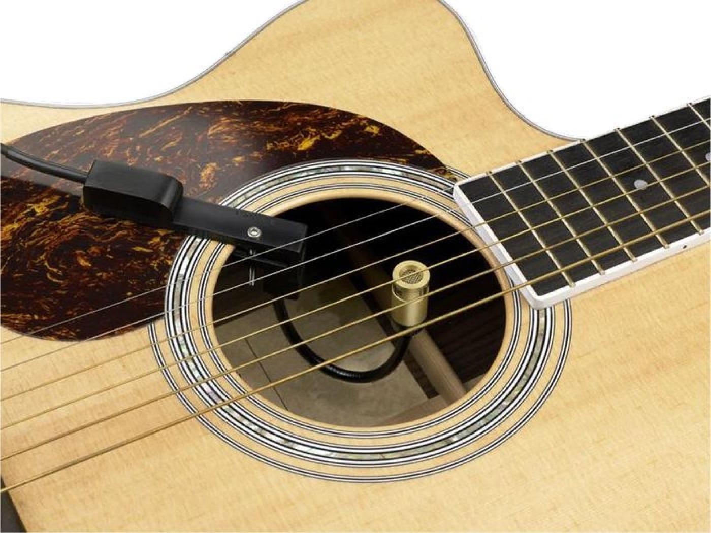 Подзвучка акустической гитары