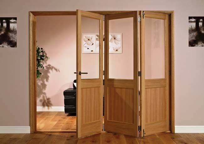 Двери складные межкомнатные