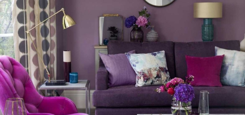 17 Purple Living Room Decor Ideas | Sebring Design Build
