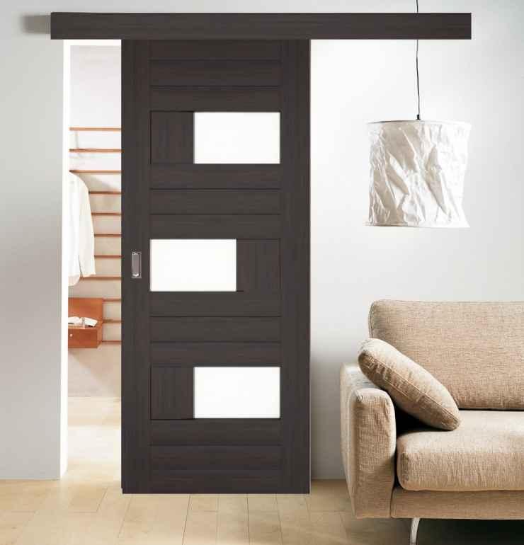 Раздвижные межкомнатные двери в маленькой  квартире
