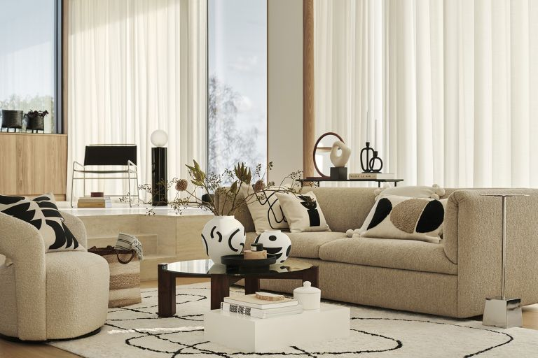 Beige living room ideas - how to be pale, interesting and chic | Livingetc