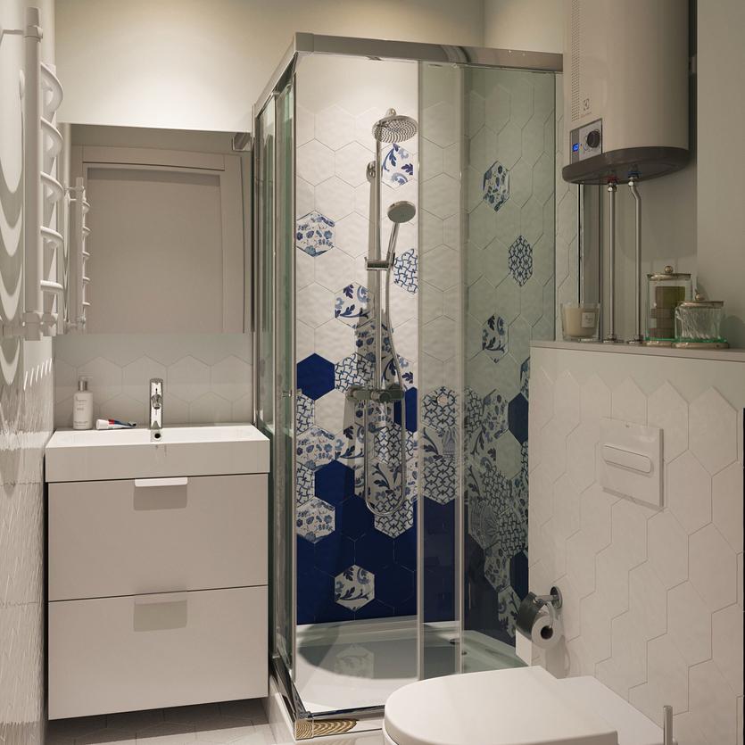 Ремонт в ванной комнате в хрущевке: советы по оформлению и 50+ фото-примеров