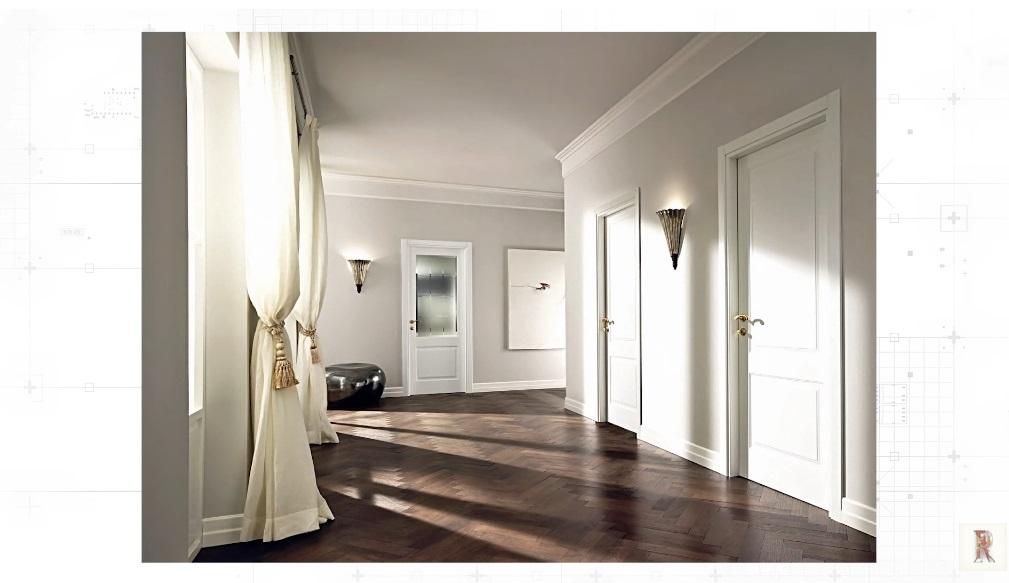 Белый плинтуси белые двери