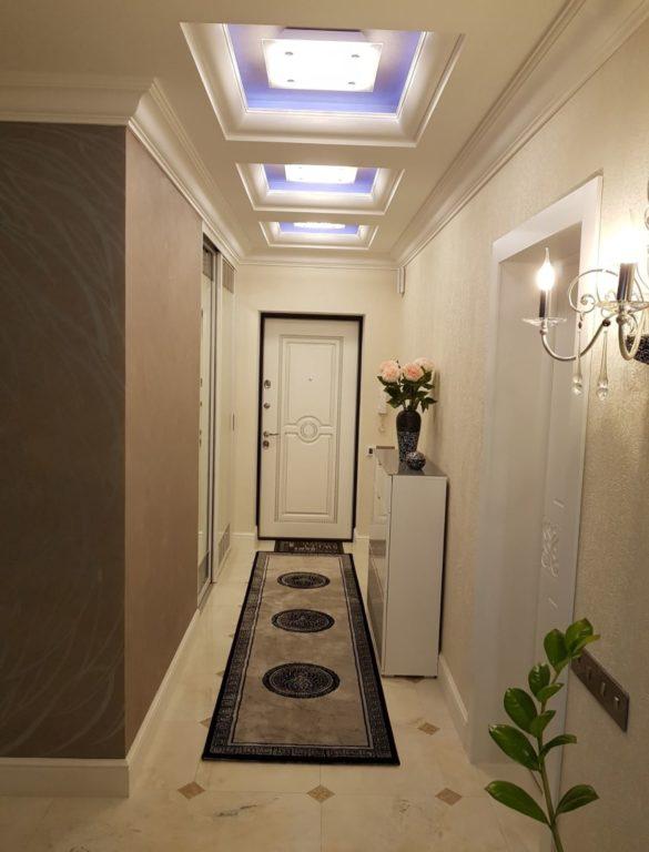 Дизайн коридора прихожей в классическом стиле