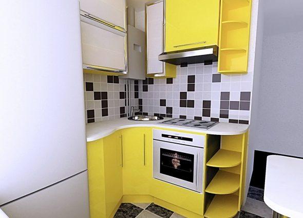 идея кухонного гарнитура
