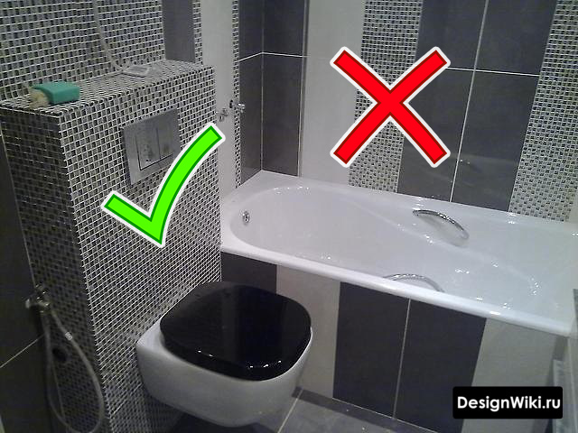 Ошибка с раскладкой плитки в ванной в хрущевке #ремонт #ваннаякомната