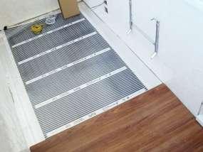 фотогалерея Теплый пол на балконе в хрущевке - фото 4