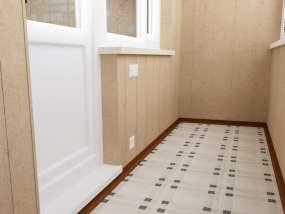 фотогалерея Керамическая плитка на балконе- фото 2