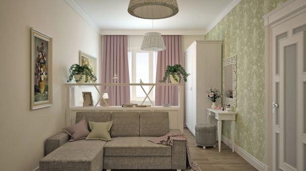 Фотография: Гостиная в стиле , Спальня, Малогабаритная квартира, Квартира, Дом, Планировки, Перепланировка – фото на INMYROOM